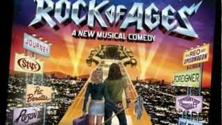 """""""Don't Stop believin' (Lyric Official Video) Julianne Hough & Diego Boneta ft. cast of Rock of Ages"""