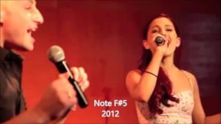 """Ariana Grande had a """" BIG VOICE """"?!"""