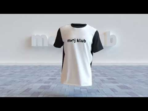 T-shirt walk animation