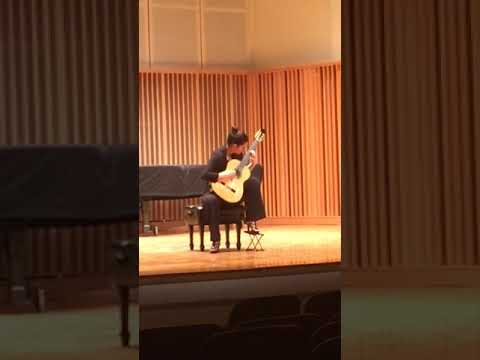 This is a video of me playing Danza del Altiplano by Leo Brouwer at a competition in high school