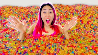 I FILLED HIS ROOM WITH ORBEEZ!!