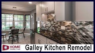 Galley Kitchen Remodel - Before & After | Modern Design