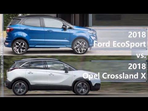 Ford  Ecosport Паркетник класса J - тест-драйв 4