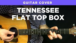 "Johnny Cash guitar cover ""Tennessee Flat Top Box"" (play-along w/ chords & tabs)"
