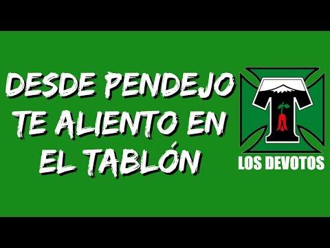 """""""Desde pendejo yo te aliento en el tablón"""" Barra: Los Devotos • Club: Deportes Temuco"""