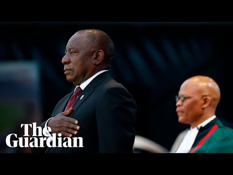 Cyril Ramaphosa sworn in as South Africa's president