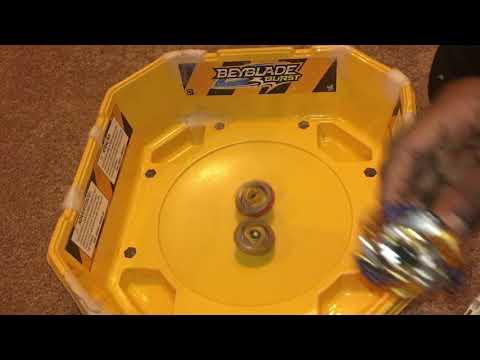 Z Achilles vs Drain Fafnir! Beyblade Burst Evolution + Beyblade Burst Turbo