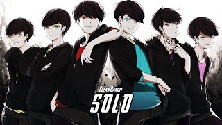 ࿇Nightcore࿇   Solo (Switching Vocal & Lyrics) [X ZWHYS Release]