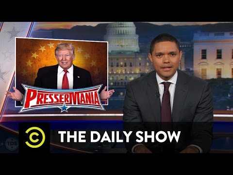 Processing Trump's Press Conference: The Daily Show