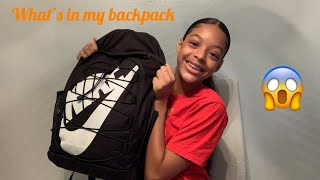 What's in my backpack (End of year 2020)