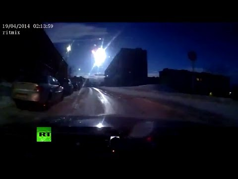 Video capta el paso de un meteorito en Rusia