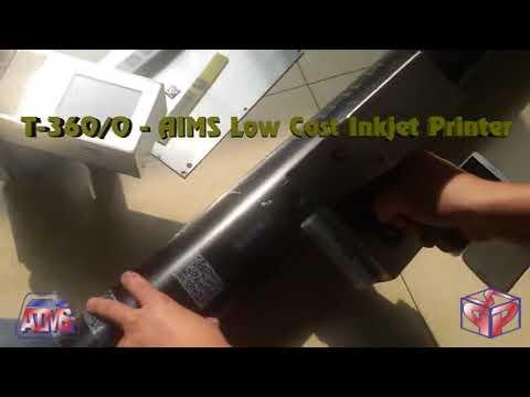 Low Cost Industrial Handheld Non-Contact Ink Jet Printer Model Ijp - T-360 (18mm)