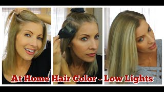 Hair Color - Low Lights - How I Add Low Lights To My Blonde Hair