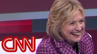 Hillary Clinton laughs at Kavanaugh's remark