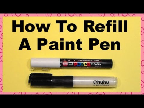 How To Refill An Acrylic Paint Pen The Frugal Crafter Blog