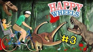 [EP.3]Happy Wheels | บุกโลกไดโนเสาร์สุดอันตราย zbing z.