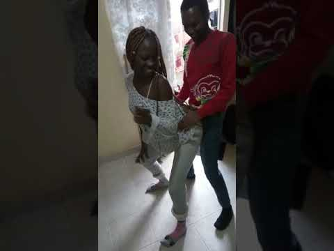 Kenyan LUO CRAZY girl rubbing