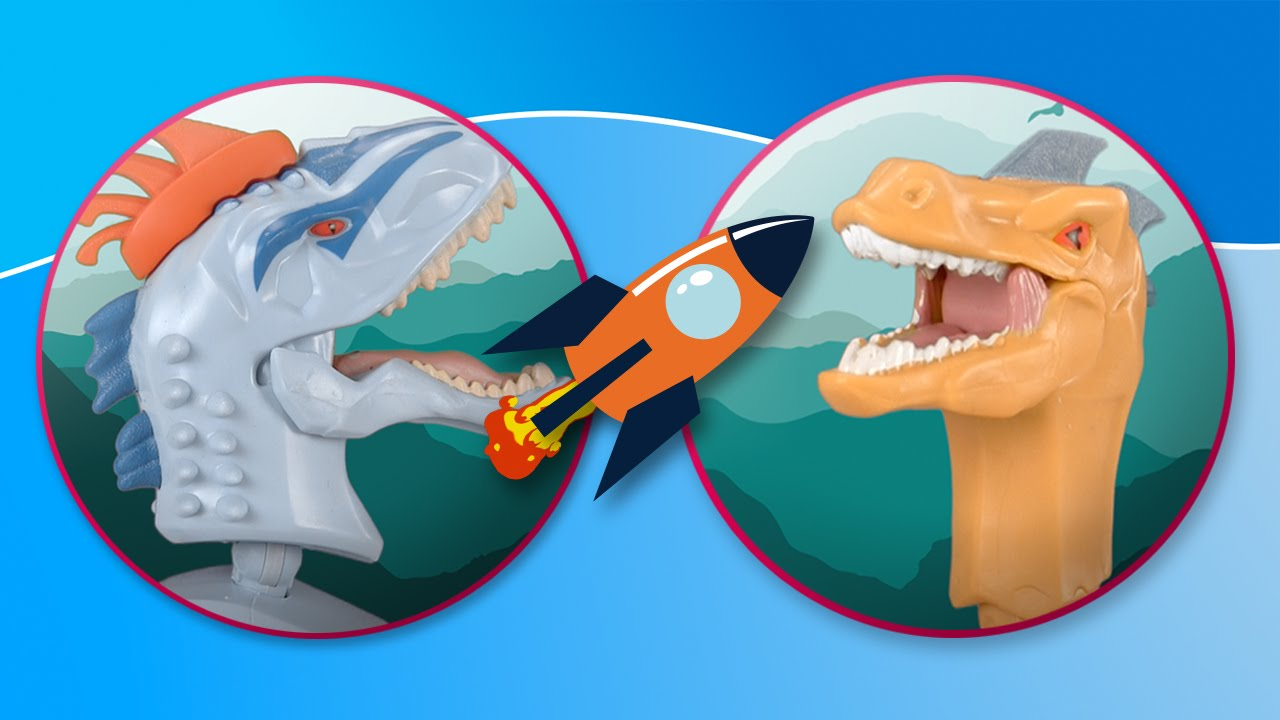 Dinosaurios. Hero Mashers de Jurassic World luchan en la jungla