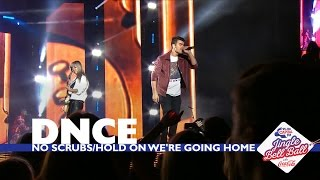 DNCE - 'No Scrubs / Hold On We're Going Home' (Live At Capital's Jingle Bell Ball 2016)