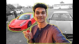 20 year Old with Ferrari for a Day in India | Delhi Supercars 458 Italia