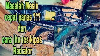 Cara Memeriksa Dan Tes Kipas Radiator Motor Yamaha Vixion