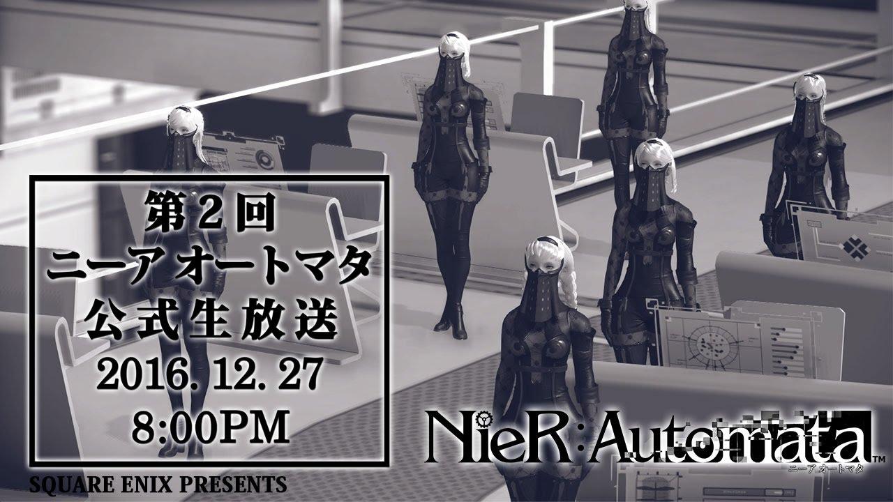 NieR: Automata - 90 minuti di gameplay dalla livestream