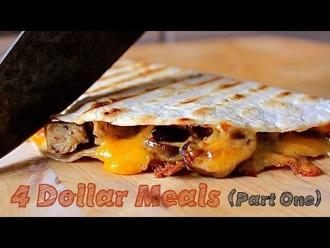 Video 4 Meals, 4 Ingredients, 4 Dollars - College Cooking (Pt. 1)