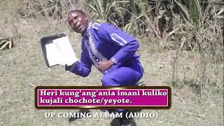 Muziki ule ule ila wimbo umeimbwa na Mbarikiwa Mwakipesile-Heri kung'ang'ania wokovu