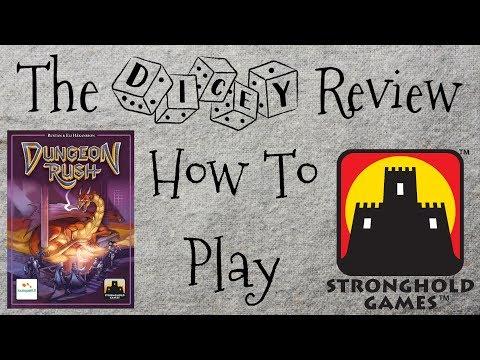 Dungeon Rush - A Dicey Walkthrough!