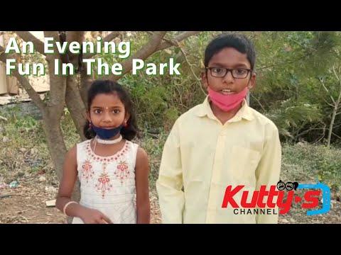 Park visit & Evening fun Tamil kids vlog | Kuttys Channel Tamil Pasanga Fun Vlog