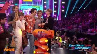 "Henry Danger and Jace Norman Win!   ""Kids' Choice Awards 2017""   Dan Schneider"