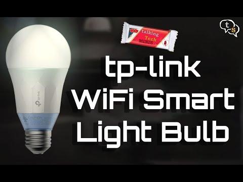 tp-link Wifi Smart LED Light Bulb | LB100 LB120  Review and Alexa demo India