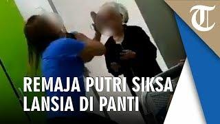 Viral Video Remaja Putri Siksa Nenek-nenek di Panti Jompo Bahkan Sampai Disuruh Minum Urine