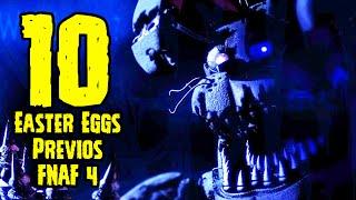 TOP 10: 10 Easter Eggs Previo Al Estreno De Five Nights At Freddy's 4   FNAF 4