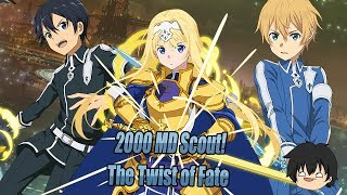 2000 MD Scout For The Twist of Fate! New Years Sale/Pack! - Sword Art Online Memory Defrag