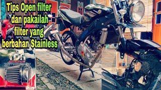 Tutorial Open Filter Yamaha Old Vixion