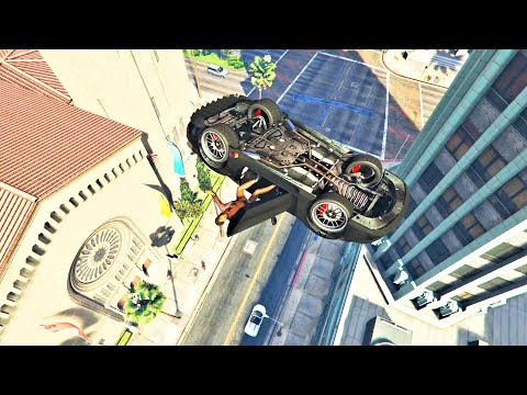 GTA V Unbelievable Crashes/Falls - Episode 110