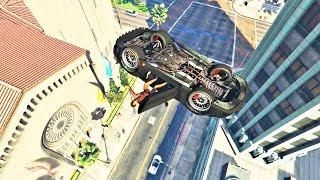 GTA V Unbelievable Crashes/Falls - Episode 110