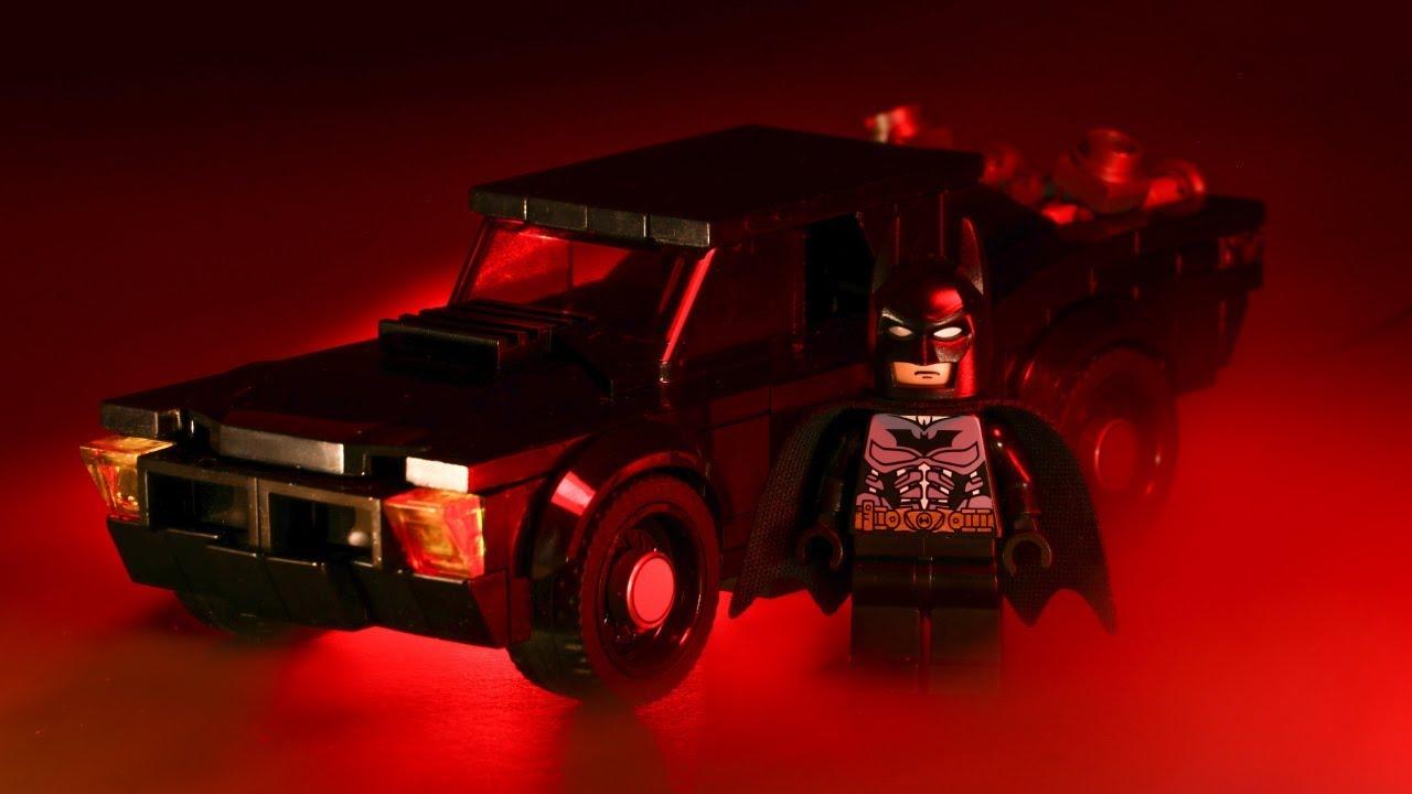 LEGO Robert Pattinson Batmobile from The Batman MOC