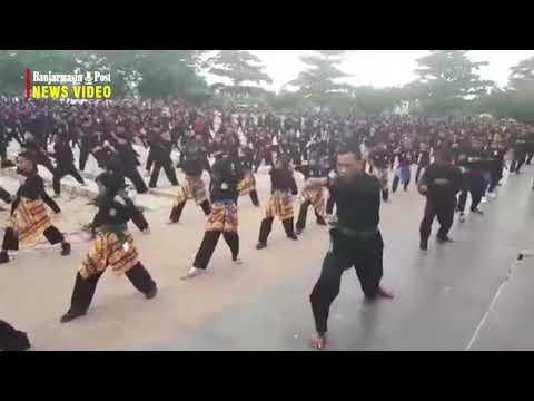Atraksi 5000 Pemain Kuntau Dalam Puncak Hari Jadi Ke 54 Kabupaten Tabalong