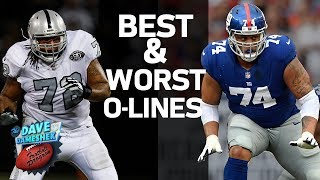 Who Are The Best & Worst Offensive Lines | DDFP | NFL Network