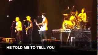 5 Seconds of Summer - I've Got This Friend (lyrics on screen)   Adelaide