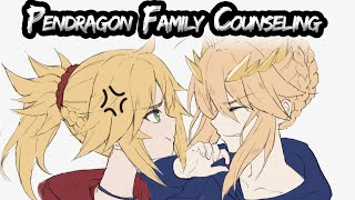 Mordred  - (Fate/Grand Order) - Pendragon Family Counseling - Fate/Grand Order Skit