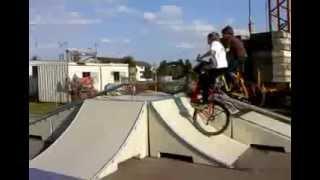 preview picture of video 'fahrrad stunt'