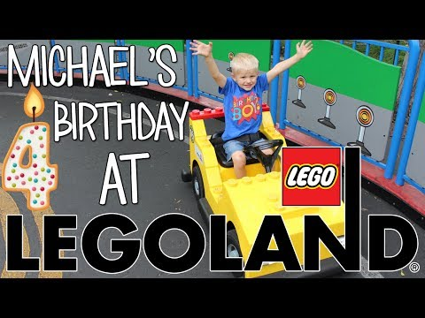 Michael's 4th Birthday Party at LEGOLAND!!