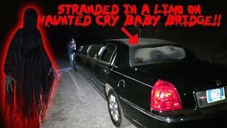 MY LIMO BROKE DOWN ON THE HAUNTED CRY BABY BRIDGE * CRY BABY BRIDGE CHALLENGE*   MOE SARGI