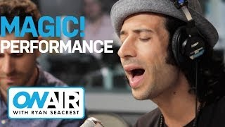 "MAGIC!   ""Rude"" Acoustic I Performance I On Air With Ryan Seacrest"