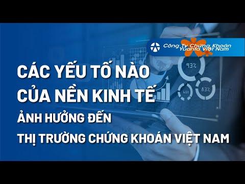 Các Yếu Tố Nào Của Nền Kinh Tế Sẽ Ảnh Hưởng Đến Thị Trường Chứng Khoán Việt Nam