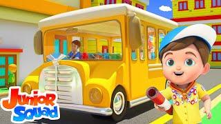 Wheels On The Bus | Bus Song | Nursery Rhymes For Kids | Baby Rhyme