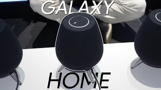 Samsung Galaxy Home Smart Speaker preview